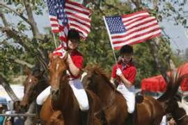 day of horse flags